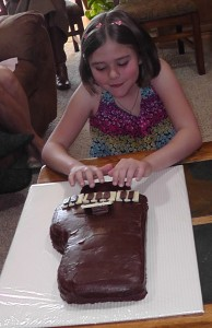 Playing the Piano Cake