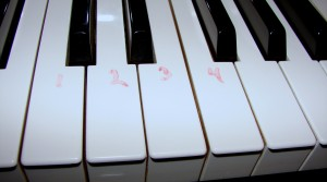Removing Dry Erase Marker From Your Piano Keys