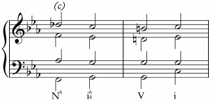 Neapolitan to Cadential 6-4